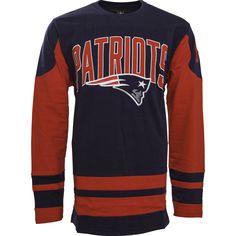 27322a3b3 NFL New England Dufferin Fleece Long Sleeve Shirt Nfl New England Patriots
