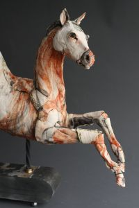 The studio of Paul Priest and the creations of Ostinelli and Priest – gallerytop Horse Sculpture, Animal Sculptures, Sculpture Clay, Ceramic Figures, Ceramic Art, Pottery Sculpture, Pottery Art, Ceramic Animals, Pottery Animals
