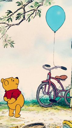 Winnie The Pooh Wallpaper Hd For Mobile Winne The Pooh, Cute Winnie The Pooh, Winnie The Pooh Quotes, Winnie The Pooh Drawing, Disney Kunst, Disney Art, Disney Pixar, Disney Animation, Disney Phone Wallpaper