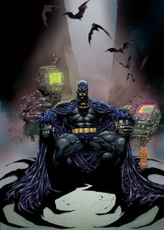 Marc Silvestri Batman by ChrisSummersArts on deviantART