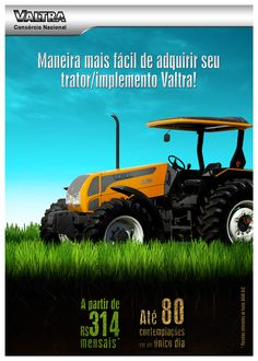 Tema: Consórcio Valtra Peça: Flyer