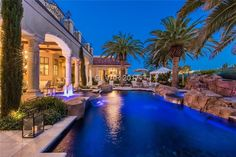 9021 Grove Crest Ln, Las Vegas, NV 89134 -  $22,000,000 Luxury Home and House Property For Sale Image