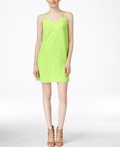 CeCe Sweeny Tie-Back Shift Dress