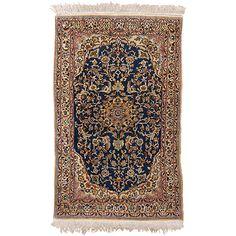 Nain kézicsomózású iráni szőnyeg - RASZB 012