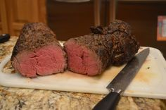 Herb Crusted Beef Tenderloin. Michelle's holiday showstopper is simple, delicious, and lean to boot.