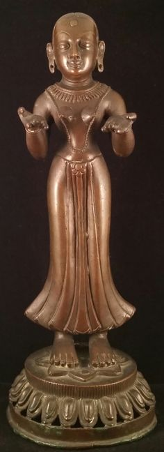 Front View of Goddess