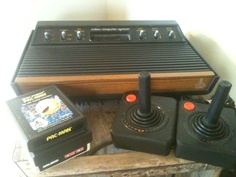 My first video game system! I loved it....especially PacMan!!!!!