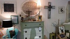 Vintage Gallery Charm Decor Makeover Using Chalk Paint C Dresser Pics Pinterest