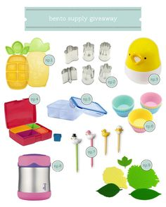 Comment for a chance to enter all my favorite bento supplies on Hellobee!