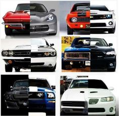 muscle cars vintage vs new This showing the modern muscle cars have improved horsepower and that the modern muscle car is a better product than the vintage muscle car the vintage muscle cars weren't as fortunate to have to fuel systems that the modern muscle cars have today.