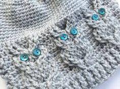 Crochet owl hat ~ Free Patterns