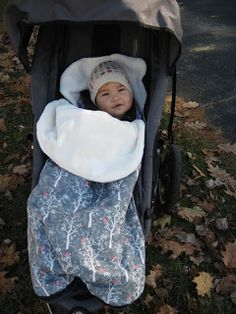 Colder weather has hit VT and I know my wiggly baby won't keep a blanket on during a stroller ride, so I was in the market for a toddler bun...