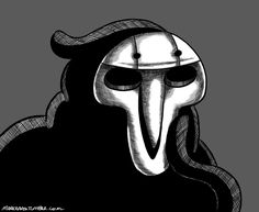 good lord I don't even like/play reaper but goddamn it I love the fanart