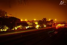 Colours enhances d mood of photography #streetlight #lighting #awesomeevening #bobyclicks #bulbmode #nightcolurs #chennaistation
