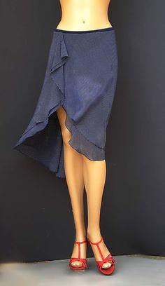 td-027 chifon tango skirt