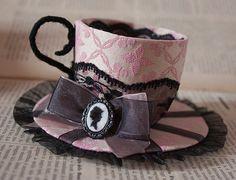I think I need to make this (P.S. It's a hat, not just a teacup).