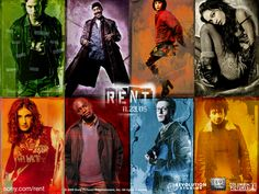 RENT:  Loved it on Broadway and loved the movie!!
