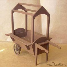 Miniatures et maisons de poupees : Top 5 chariot