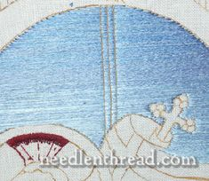 FAQ: Embroidery Fillings for Large Spaces - there's more then satin stitch! 5 great stitches.
