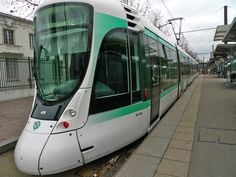 The new generation of Paris trams are far removed from their nineteenth-century ancestors. Quiet, sleek, efficient and comfortable they are an integral part of the Paris public transport network.