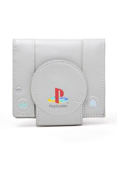 Playstation-inspired wallet.  You know, just because.