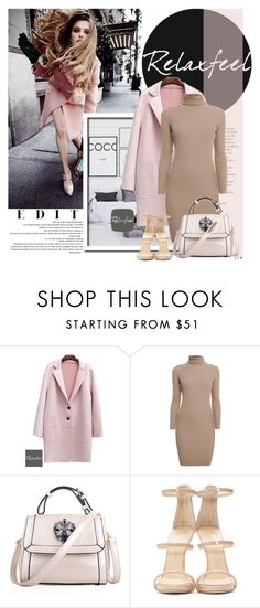"""Relaxfeel2"" by elmaimsirovic ❤ liked on Polyvore featuring Balmain, Relaxfeel, Rumour London and Giuseppe Zanotti"