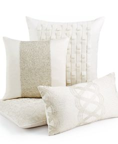Hotel Collection Bedding, Finest Luster Decorative Pillows - Decorative Pillows - Bed & Bath - Macy's