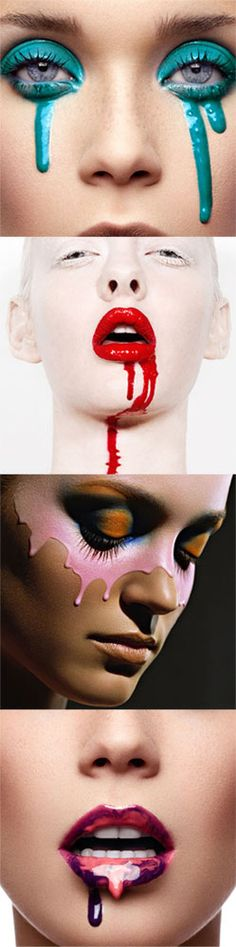 dripping makeup