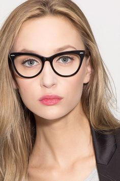 d58988b99e See more. Anika Black Acetate Eyeglasses from EyeBuyDirect. Exceptional  style