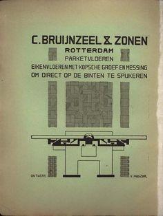 De Stijl vol. 1 no. 1  Vol. 1, no. 1 - Inside cover