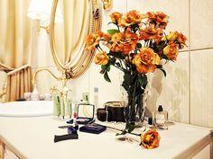 Warm Classic Gold Sink Bathroom