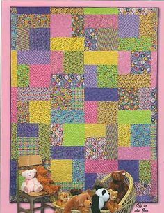 Turning Twenty - Fat Quarter Quilt Pattern