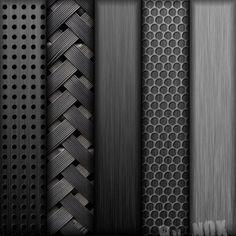 Black & patterns