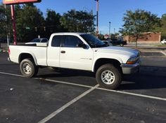 lifted dodge dakota truck dodge dakota 58000 miles 4x4. Black Bedroom Furniture Sets. Home Design Ideas