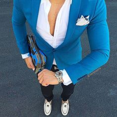 Mens Fashion Smart – The World of Mens Fashion Blazer Outfits Men, Mens Fashion Blazer, Suit Fashion, Casual Outfits, Fashion Clothes, Fashion Outfits, Mode Masculine, Stylish Men, Men Casual