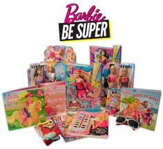 Barbie Be Super: Empowering Girls to Tap Into Their Inner Super Heroes & To Be Super Everyday. April 1st, Giveaways, To My Daughter, Barbie, Superhero, Cool Stuff, Amazing, Check, Barbie Dolls