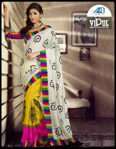 #Vipul #Fashion #saree http://shop.vipulfashions.com/ProductDetail.aspx?ProductIdDisplay=NDU1Ng==