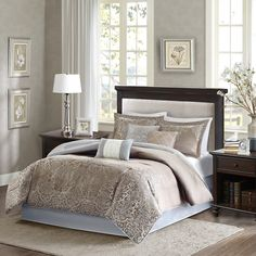 Madison Park Vanessa Comforter Set & Reviews | Wayfair