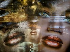 'Red lips and green eyes' von Gabi Hampe bei artflakes.com als Poster oder Kunstdruck $18.03