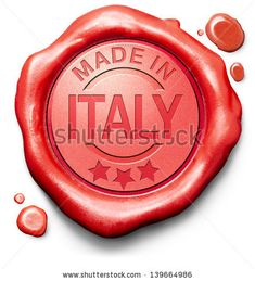 Made in Italy. Original product. Buy local buy authentic.