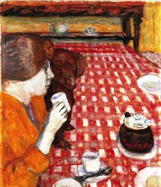 Pierre Bonnard - Yellow and Red, 1914