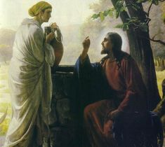 The Woman at the Well | http://spiritlessons.com/Documents/Jesus_Pictures/Jesus_164.JPG