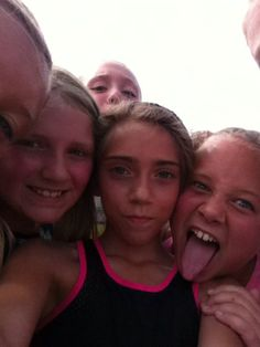 Me and my friends at Cross Country