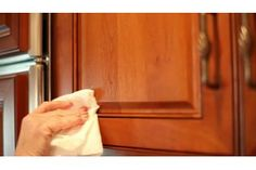 How to Remove Years of Greasy Build-Up from Kitchen Cabinets | eHow