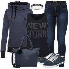 Freizeit Outfits: NewYork bei FrauenOutfits.de