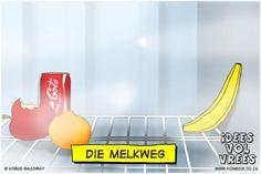 Die Melkweg Afrikaans, Typography, Jokes, Funny, Chicken Recipes, Van, English, Random, Humor