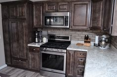 57 Best Hickory Cabinetry Bailey S Cabinet Customer Kitchens Images