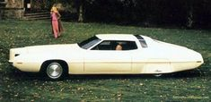 1970 Ford Thunderbird Tridon show car, side