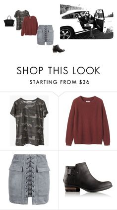 """""""Untitled #2770"""" by misnik ❤ liked on Polyvore featuring SOREL, Ragdoll, Toast, WithChic and Fendi"""