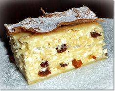 Top 10 Desserts, Hungarian Recipes, Muscle Food, Something Sweet, Diy Food, Cake Cookies, Cheesecake, Food And Drink, Pie